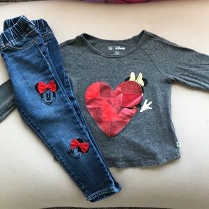 Baby Gap Disney Set 3T